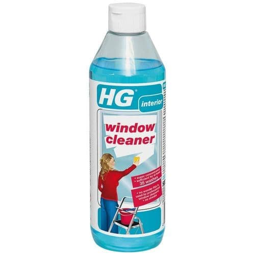HG Window Cleaner Super Concentrated No Streak Degreaser pH-neutral 500ml